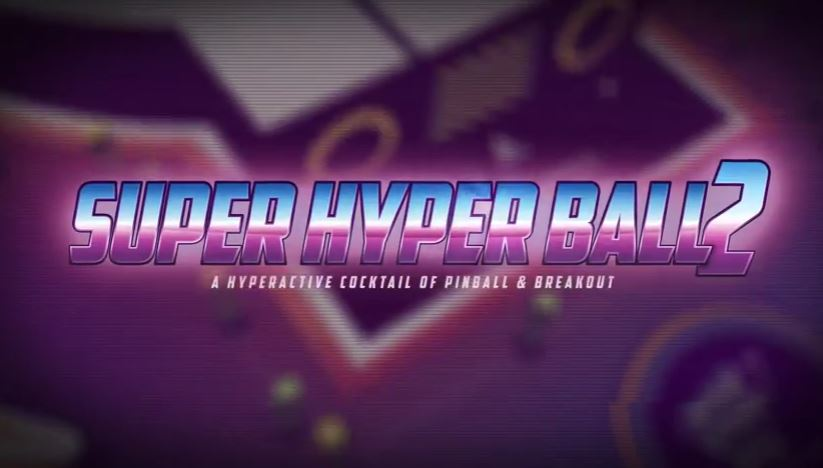 [Update] The Pinball/Breakout arcade mashup Super Hyper Ball 2 is out now on iOS
