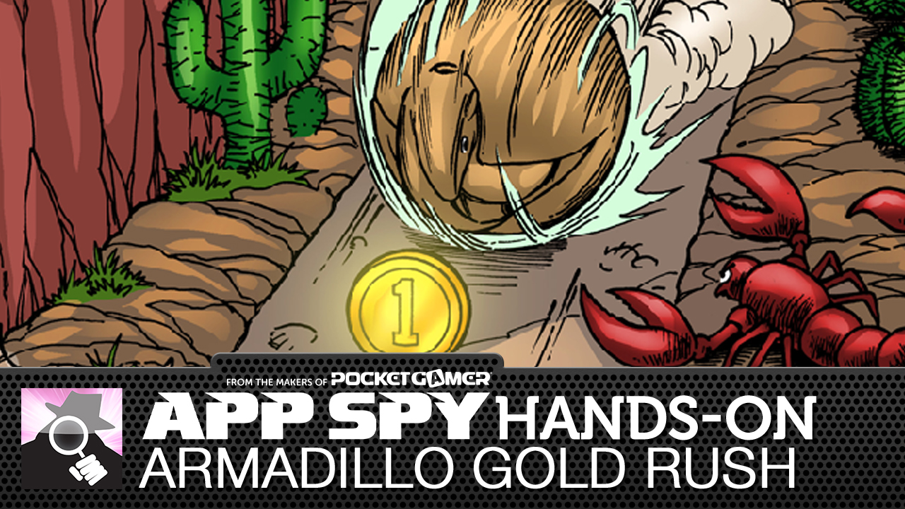 Armadillo Gold Rush is a handsome 2D puzzler from AppAbove Games...