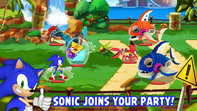 Latest Angry Birds Epic update lets you add Sonic to your fighting team