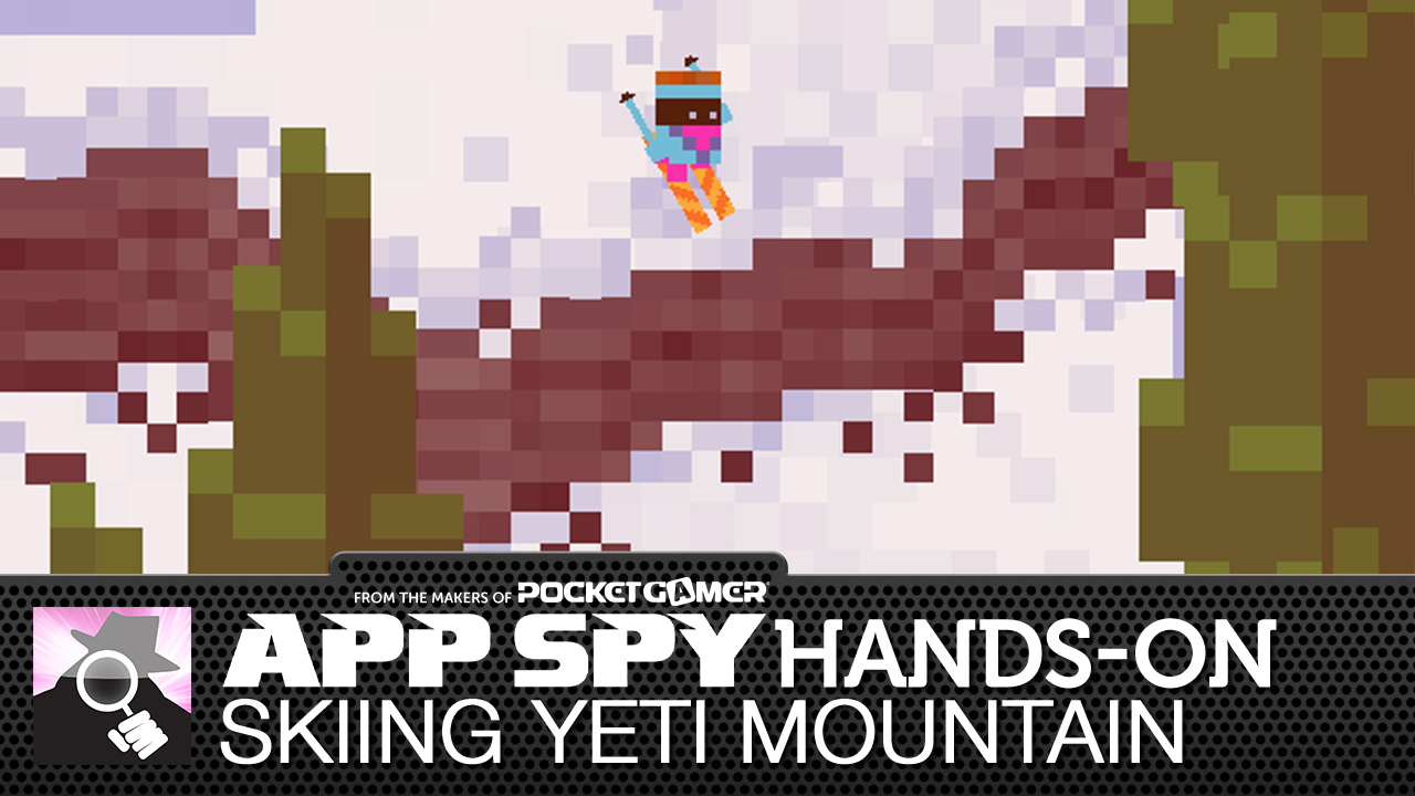 Skiing Yeti Mountain is a superb, bite-sized downhill slope sim, and we've got your first look