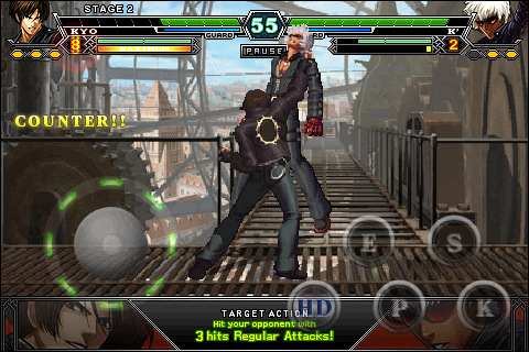 iPhone beat-'em-up The King of Fighters-i 002 gains 6 new bruisers, goes on sale