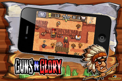 Free iPhone game Guns'n'Glory