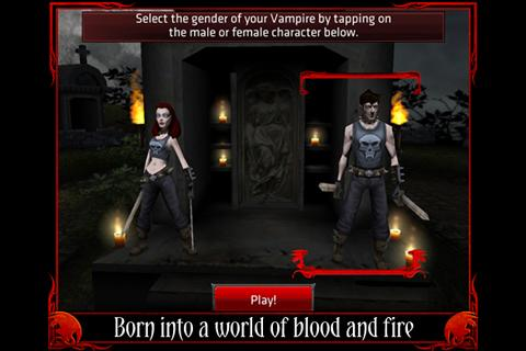 Free vampire MMO Dark Legends arrives on the Xperia Play