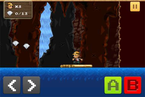 Free iPhone game: MrFall