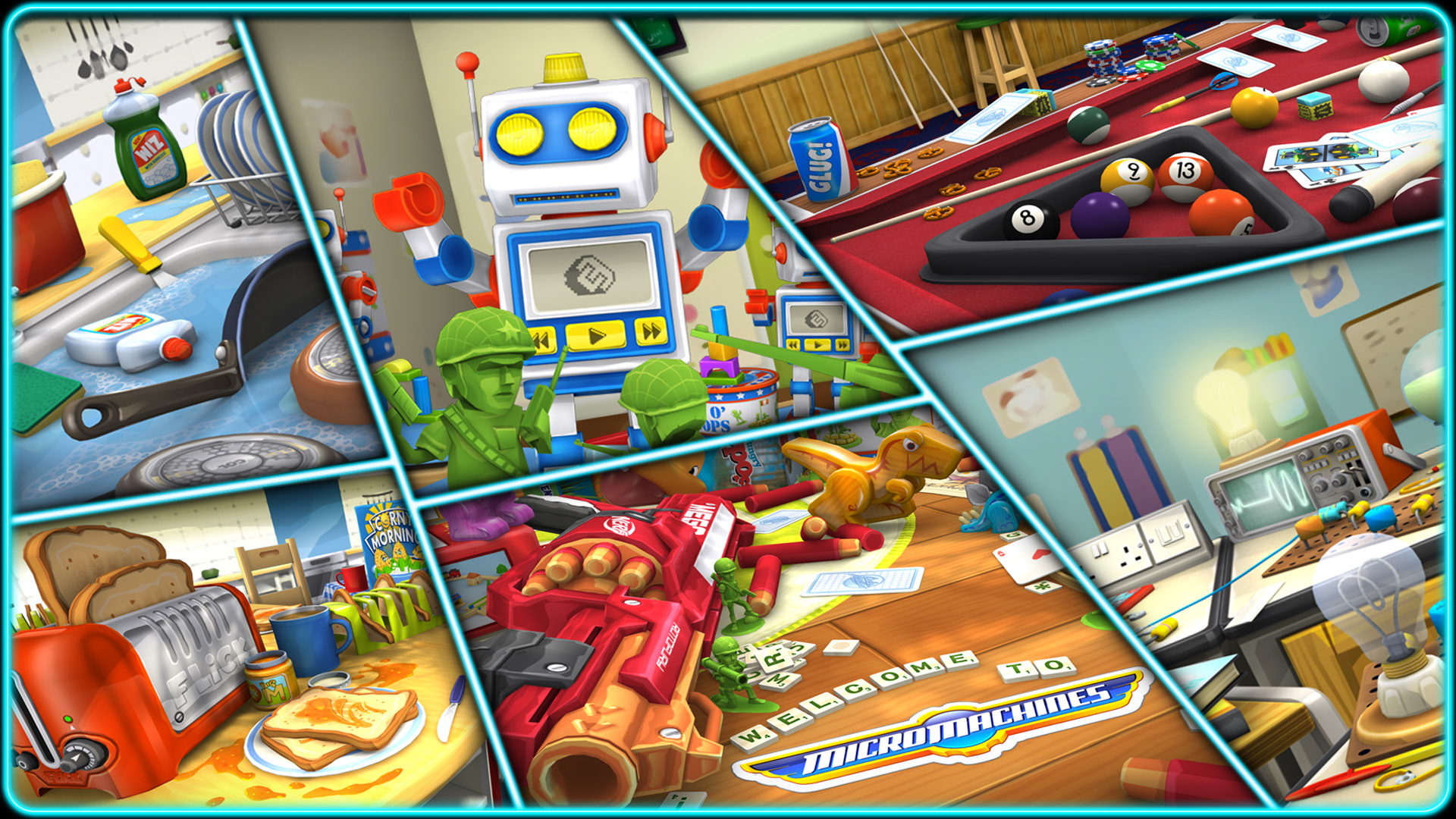 Micro Machines is skidding onto iPad and iPhone later this year thanks to Codemasters and Chillingo