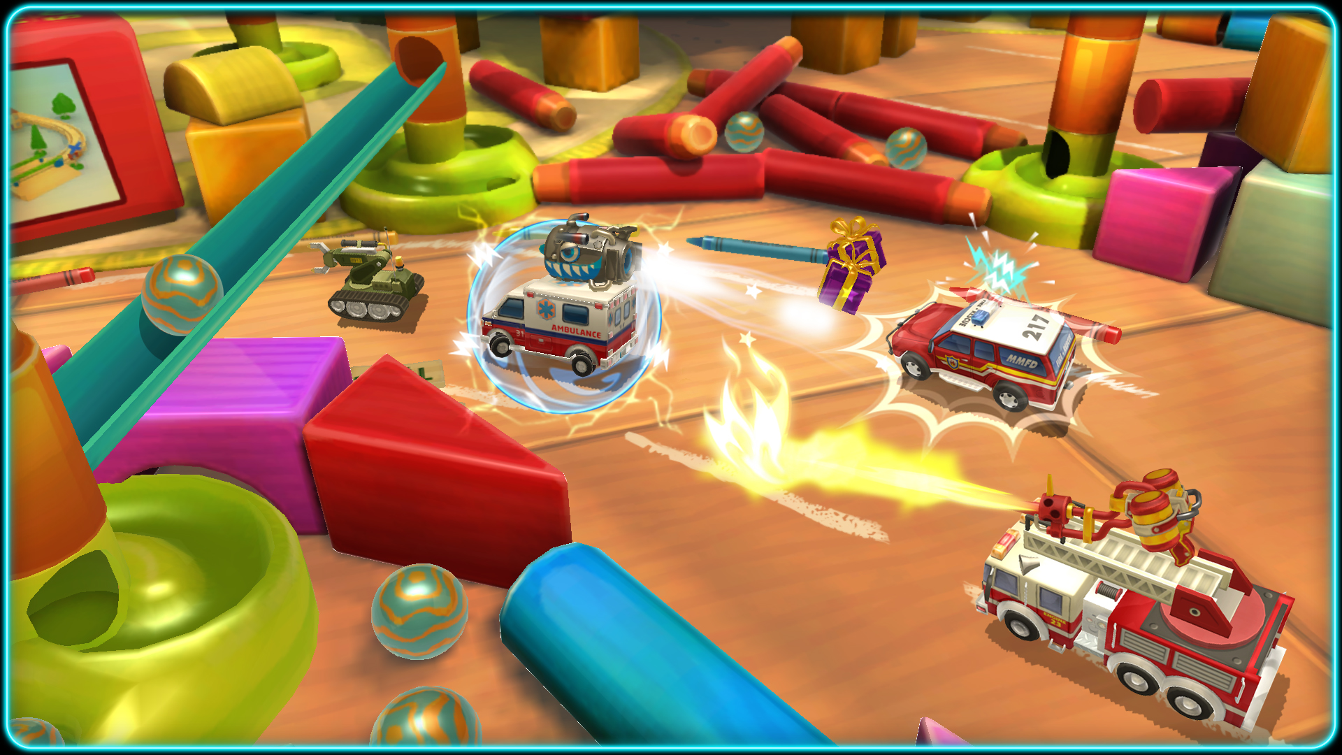 Test de Micro Machines