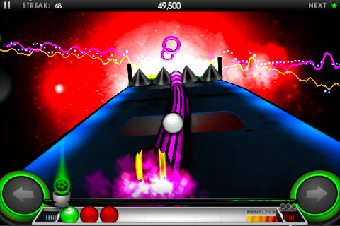 New version of rolling musical racer Riddim Ribbon goes free