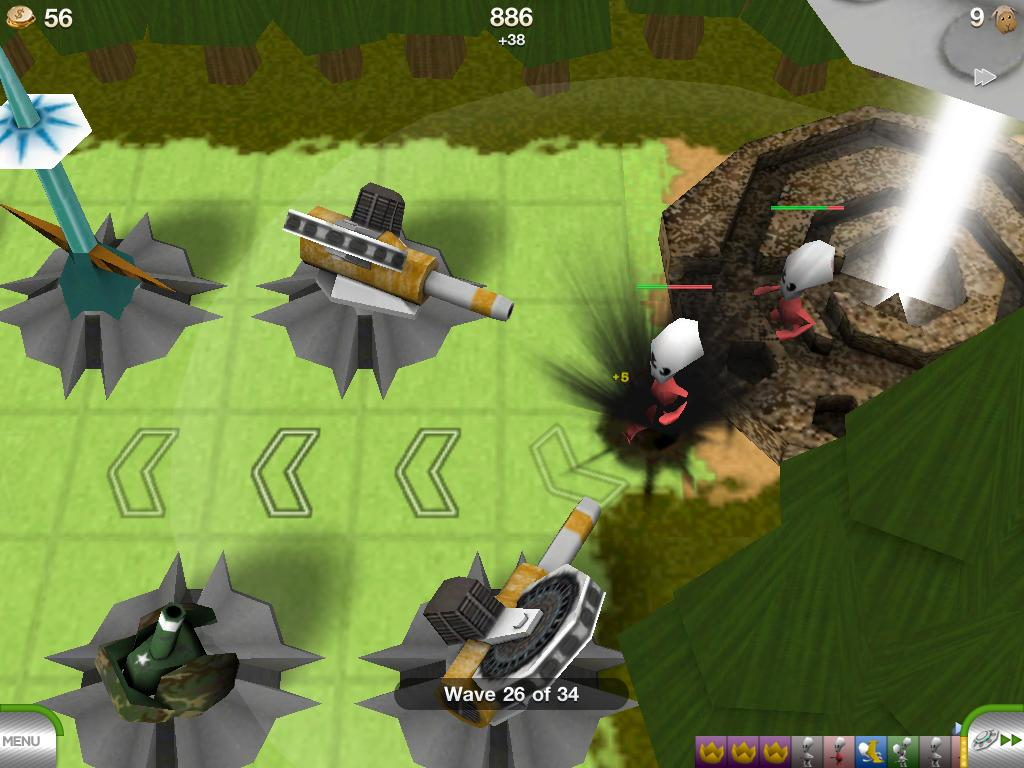 TowerMadness for iOS gets new maps, weapon upgrades in 1.15 update