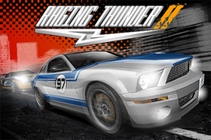 iPhone racer Raging Thunder 2 jumps a red light, arrives early on App Store