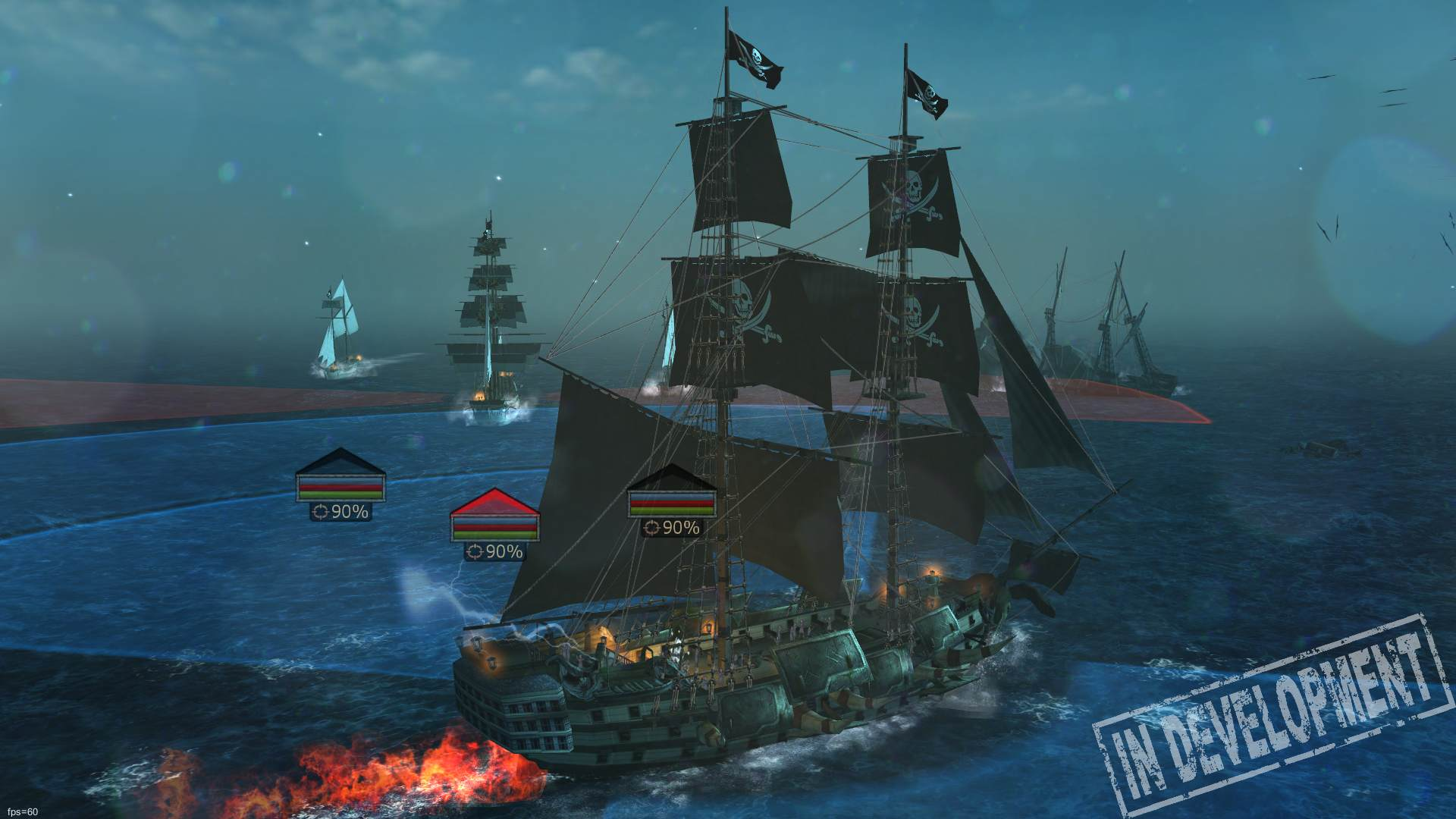 Tempest is an upcoming pirate-themed F2P RPG with legendary sea creatures, warship battles