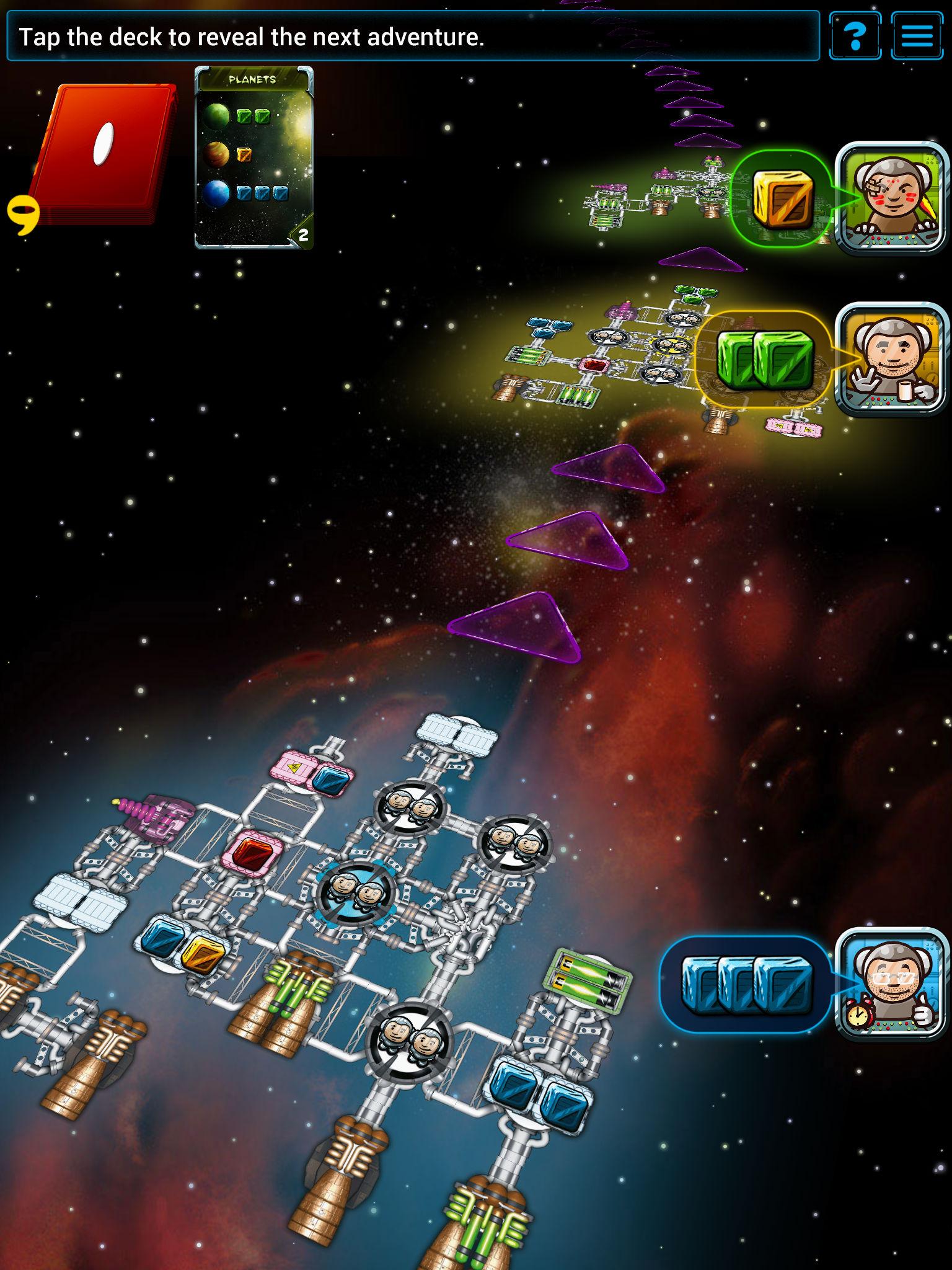 Galaxy Trucker Android,iPhone,iPad, screenshot 2