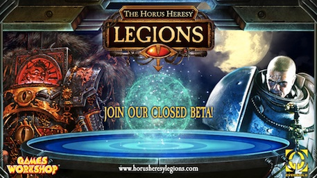 The Horus Heresy: Legions storms onto iOS and Android at the end of this month