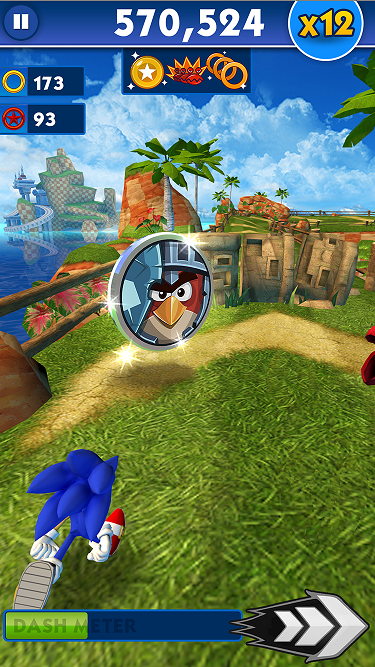 Angry Birds Epic characters are unlockable in Sonic Dash for the next three weeks