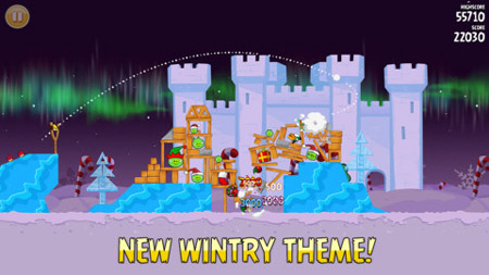 Angry Birds Seasons gains 25 new levels in Winter Wonderham update