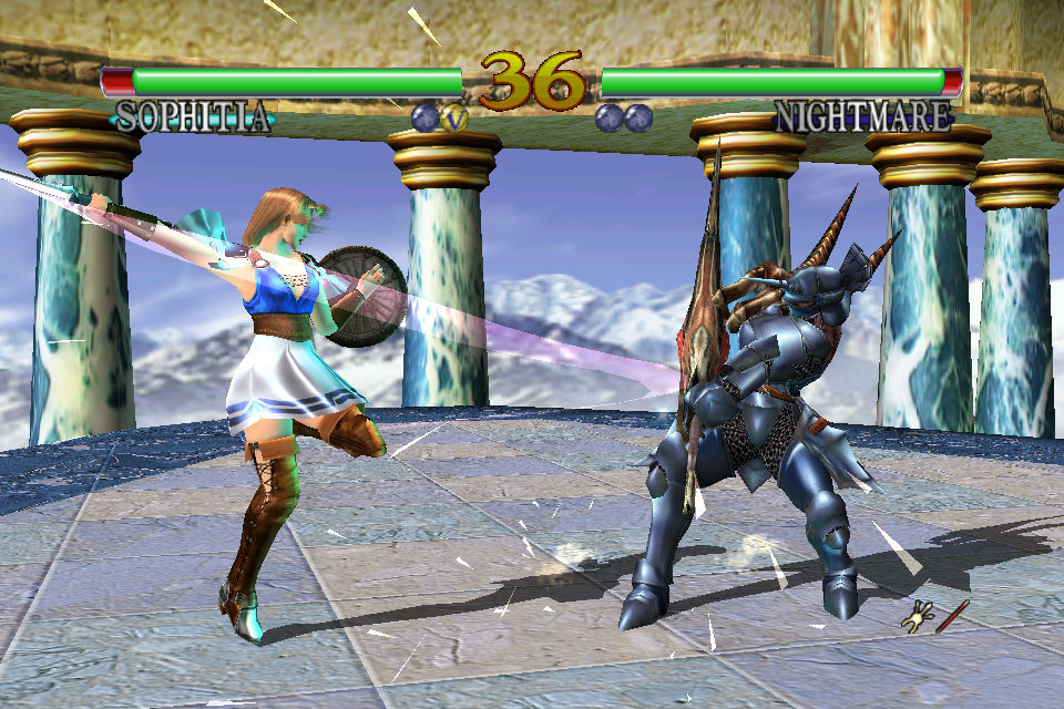 Classic Dreamcast beat-'em-up Soul Calibur punching its way into the App Store this Thursday