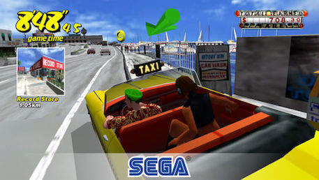 Crazy Taxi and Space Harrier II are SEGA Forever's latest titles on iOS and Android