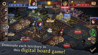 Antihero is a new digital board game that's out right now for iPhone and iPad