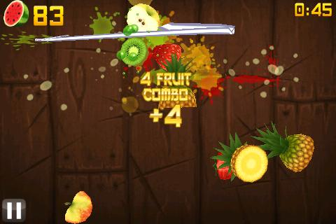 Chop cherries with calligraphy and lightning in latest Fruit Ninja update