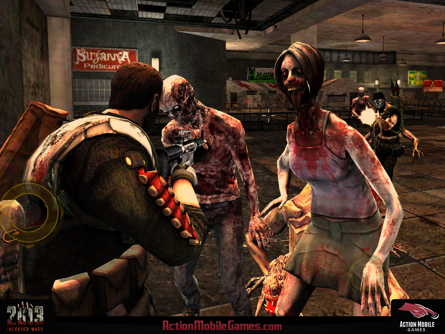 Shoot zombies alongside your friends in upcoming co-op iOS blaster 2013: Infected Wars