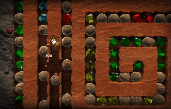 Boulder Dash - 30th Anniversary arrives on iOS and Android in early 2014 with a rock slide of new features