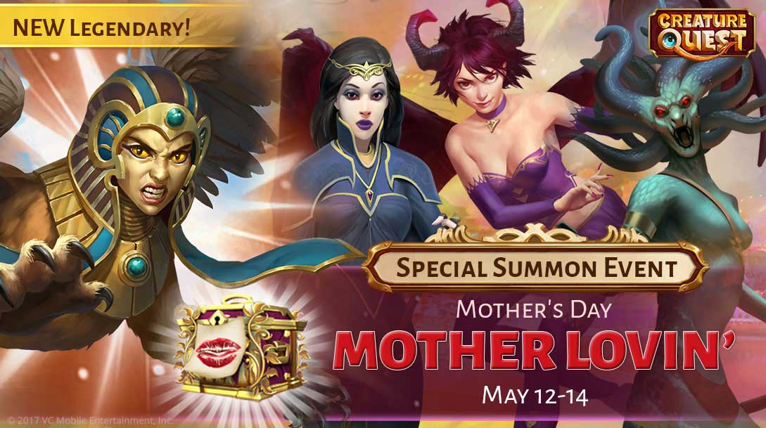 Celebrate Mother's Day this May with the latest Creature Quest update