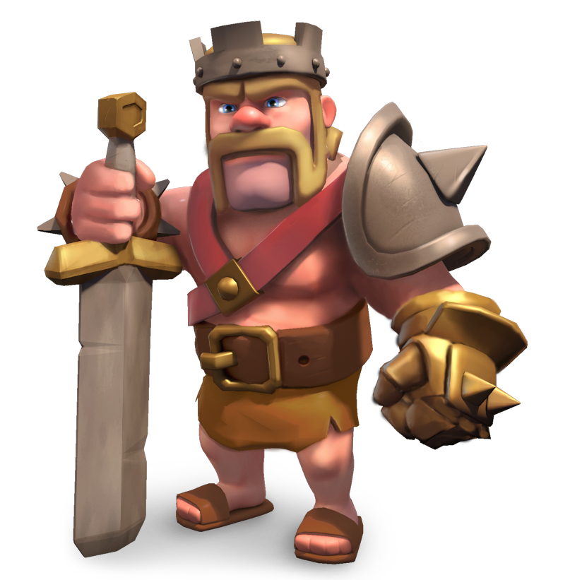 Barbarian King - guide to heroes in Clash of Clans  Features  Clash