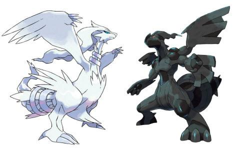 Zekrom and Reshiram heading to Pokemon Black / White on DS on March 10th
