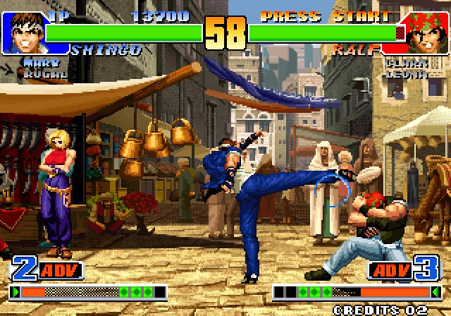 The King of Fighters '98 is SNK Playmore's mashing together of three years of brawlers, and it's out now on iOS and Android