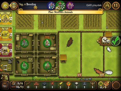 Out at midnight: Build a farm in 17th century Europe with classic boardgame Agricola