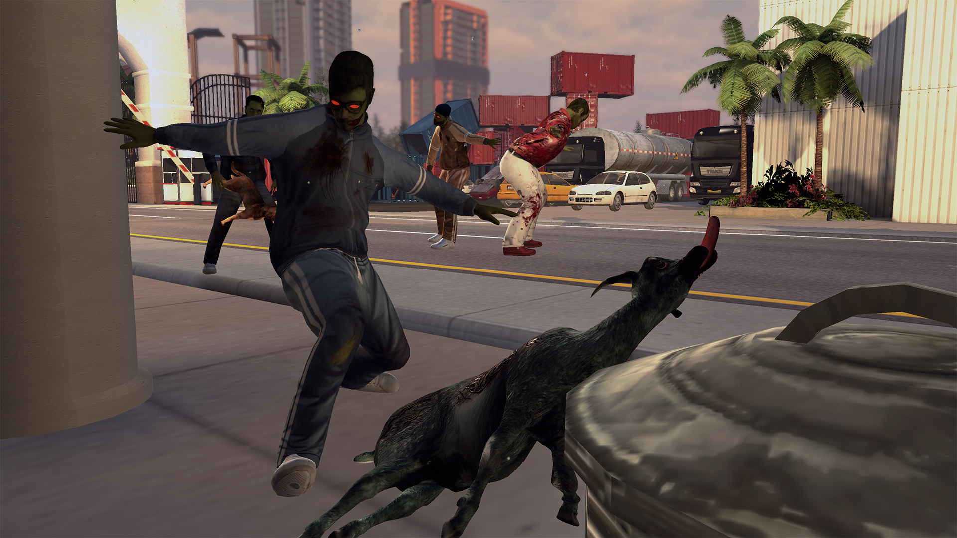 Goat Simulator becomes a zombie survival game in GoatZ, out on May 7th
