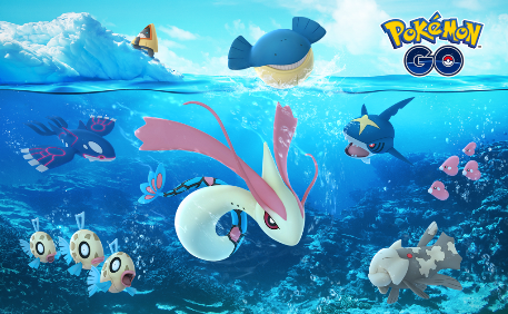 Catch more Water/Ice-type pokemon and more as Pokemon GO launches its annual winter event