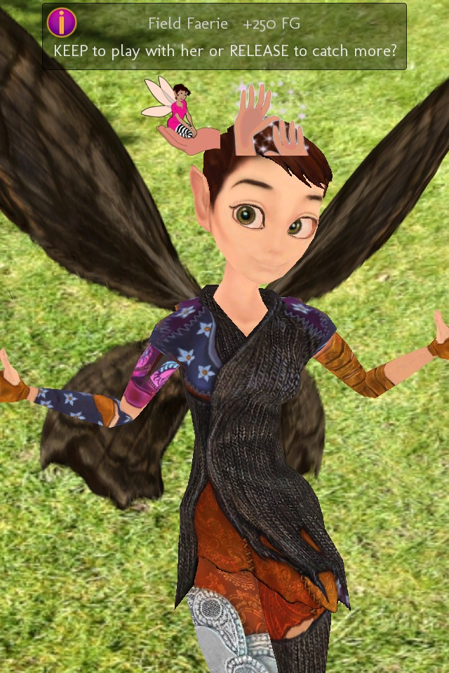 Hello Tinkerbell. AR app Faerie Planet flutters down for iOS