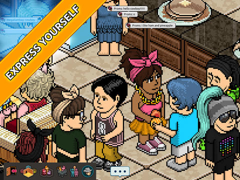 Sulake is porting its social networking virtual world Habbo to iPad at last