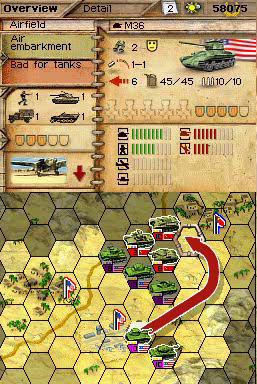 New Panzer Tactics DS screens