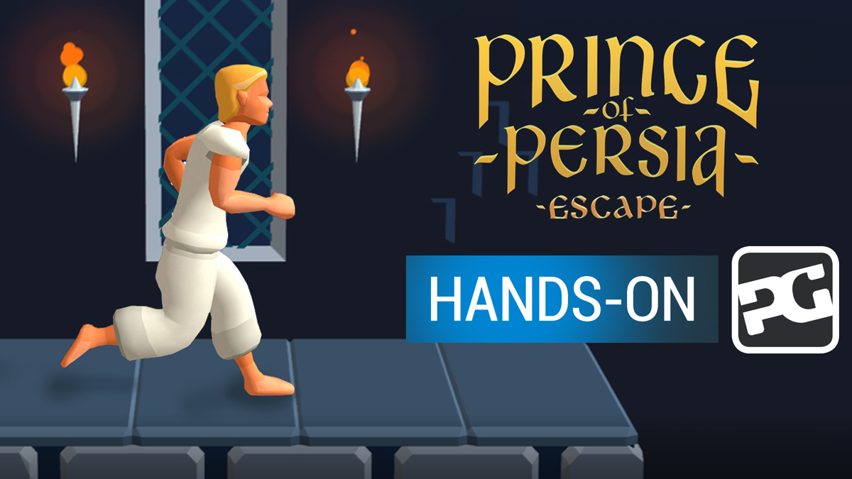"Prince of Persia: Escape hands-on video - ""The prince is auto-running and we're not sure we approve"""