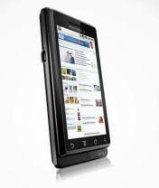 Motorola Droid multi-touches itself