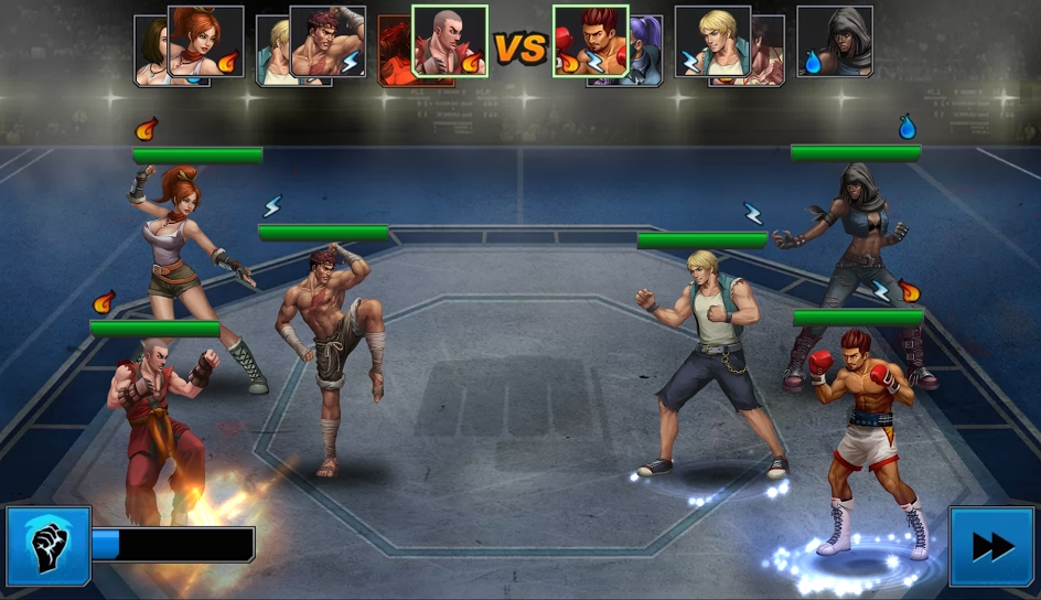 Android-exclusive Rage of the Immortals lets you beat up amnesiac superheroes