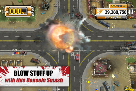 Burnout Crash! smashing its way onto the App Store tomorrow