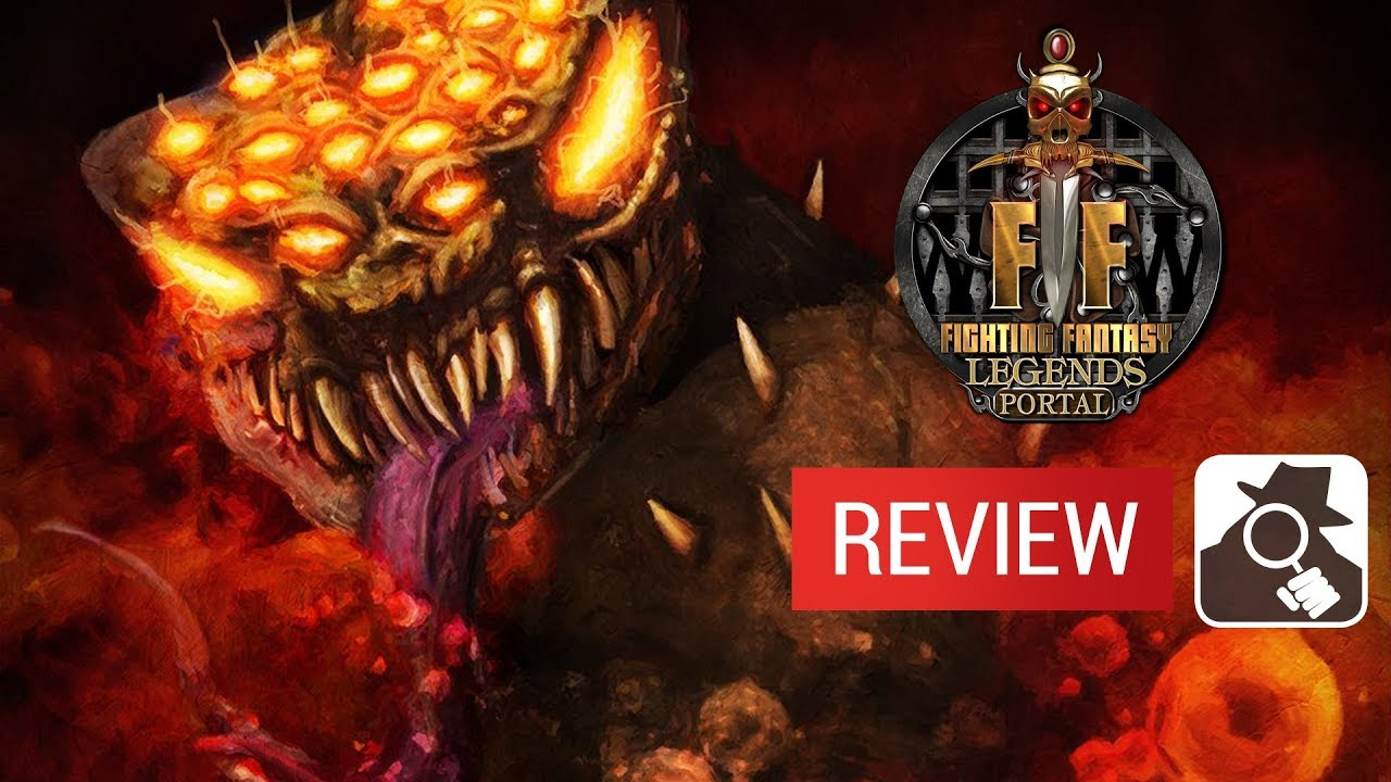 Fighting Fantasy Legends Portal video review