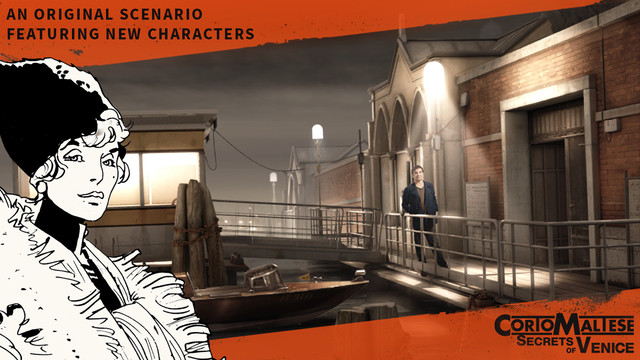 Out at midnight: Corto Maltese Secrets of Venice is an adventure based on the famous graphic novels for iPad and iPhone