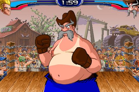 Free iPhone game: Cartoon beat-'em up Super KO Boxing 2