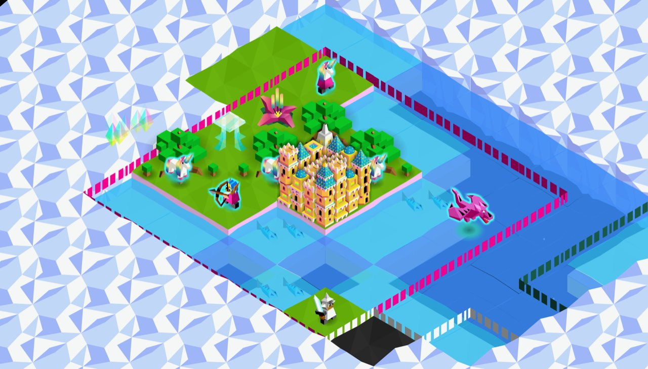 A mysterious new tribe is coming to The Battle of Polytopia and it's got a seriously psychedelic trailer