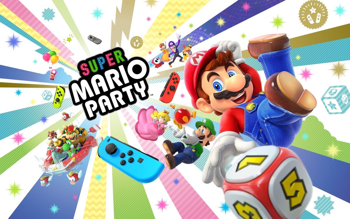 Super Mario Party for Switch is bringing online multiplayer to the series for the first time