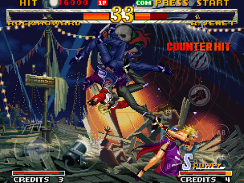 SNK fighter Garou: Mark of the Wolves comes to mobile, with online multiplayer on iOS