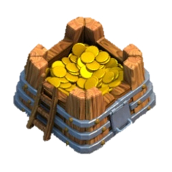 Gold Storage - Clash of Clans building breakdown
