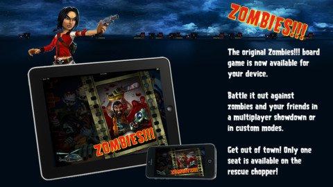 Gory boardgame adaptation Zombies!!! finally shuffles onto the App Store