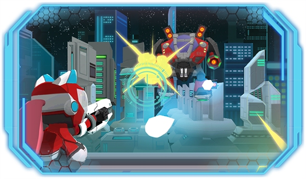 Kickstart this: Target Acquired combines Mega Man, Temple Run, and a Japanese cat police girl