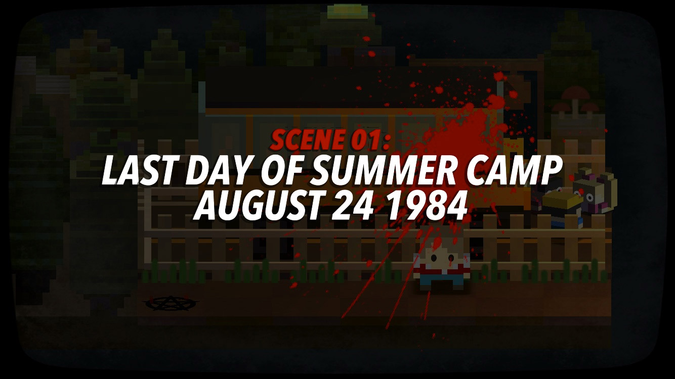 Slayaway Camp teases 80's themed horror in new trailer