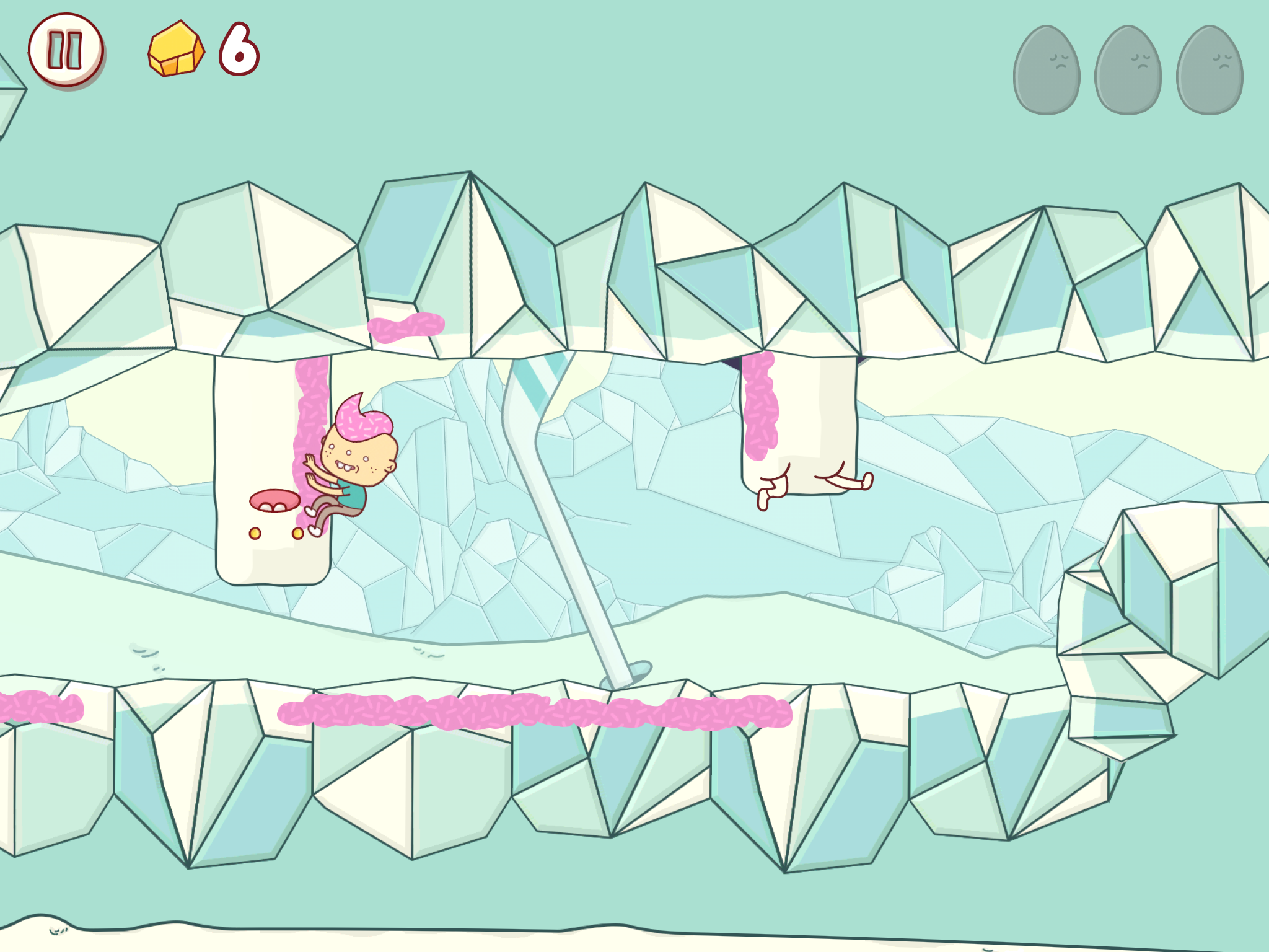 Eggggg review - A platformer all about vomiting