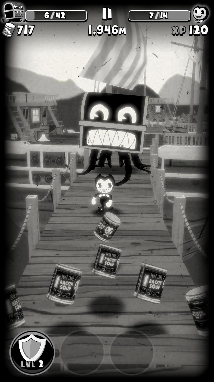 Bendy in Nightmare Run review - The endless boss runner gets super tense